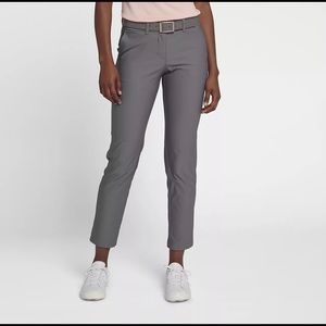 NIKE GOLF women's grey golf pants size 0